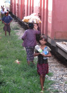 From Yangon to Thazi by train22