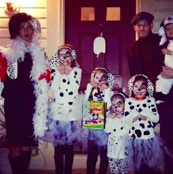 Diy Family 101 Dalmatians Costume Including Cruella De Vil