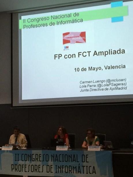 II Congreso Nacional de Profesores de Informática, 10 de mayo de 2014