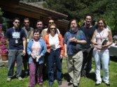 Profesores de la Comunidad de Madrid con R. Stallman