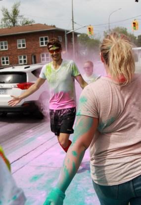 Happy Colour Fun Run guy!