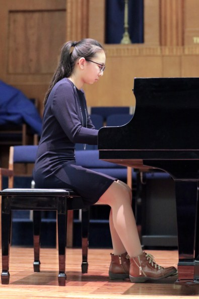 Denise Wu plays Debussy's Arabesque No. 1