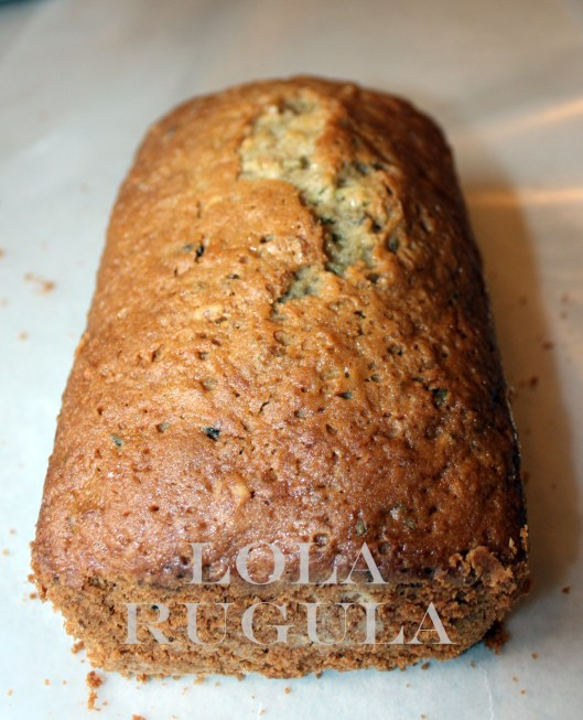 lola rugula homemade zucchini bread recipe
