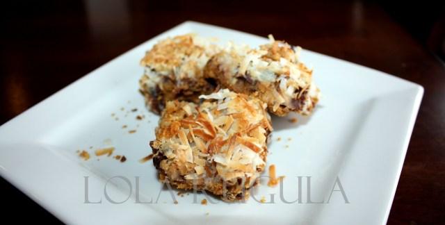 lola rugula 7 layer bars recipe