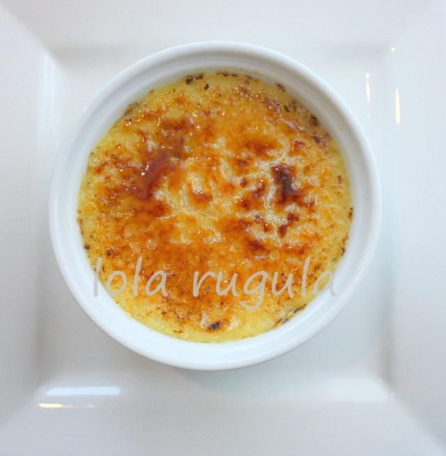 lola rugula easy classic creme brulee recipe