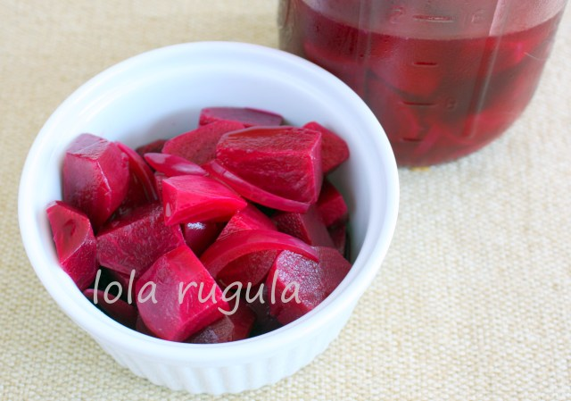 lola rugula easy pickled beets recipe