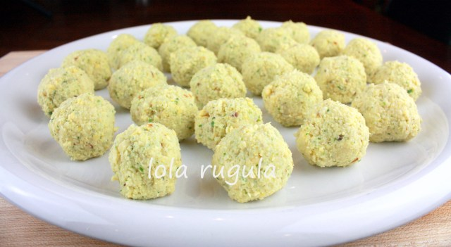 lola rugula how to make falafel
