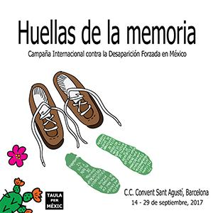 Carteles expo Huellas de la memoria