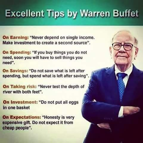 tips by warren buffet