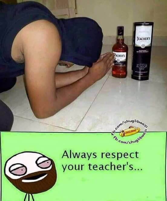 teacher's meme