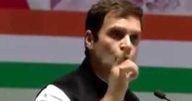 Rahul Gandhi Addressing Farmers In Rally