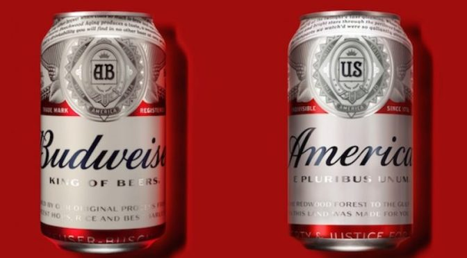 "When Fascism Comes to America, It Will Come in 18 Packs and Say ""America"" on the Can"
