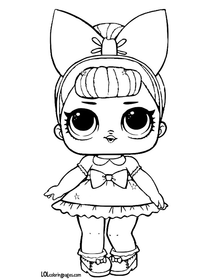 Queen Bee Lol Doll Coloring Pages Pictures To Pin