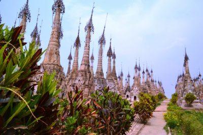 LOLEI TRAVEL – Kekku Pagoda, Myanmar