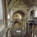 Interior do Panthéon visto de cima