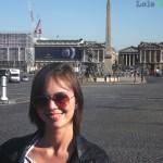 Dos meus tempos de aparelho (que tristeza!): Place de la Concorde com a Madeleine ao fundo