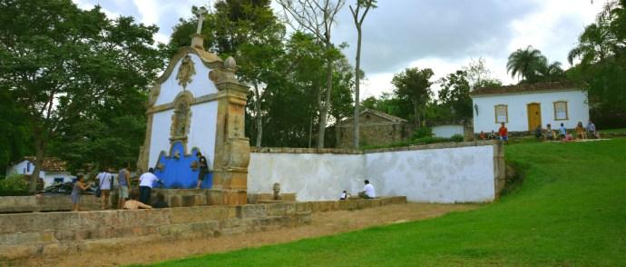 Chafariz de São José, desde 1749 com boa água para Tiradentes