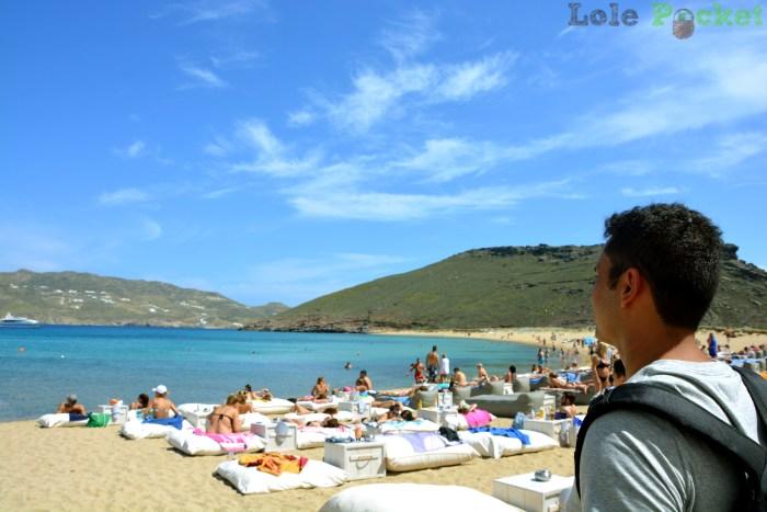 Tourists - Panormos - Mykonos