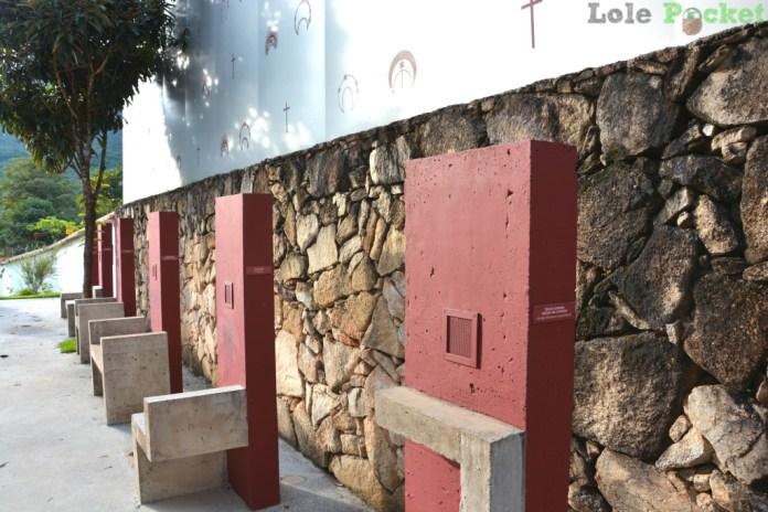 Pátio do Museu da Liturgia - Tiradentes