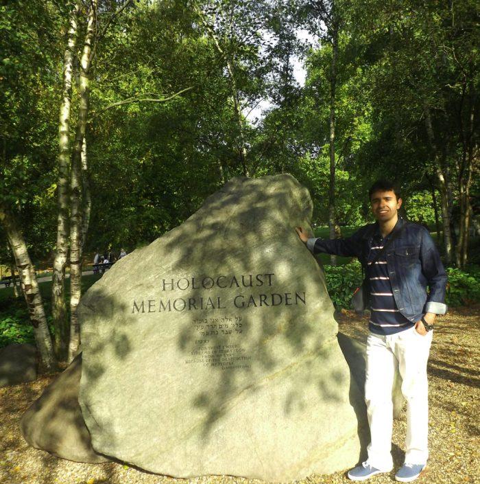 Holocaust Garden - Hyde Park - Londres
