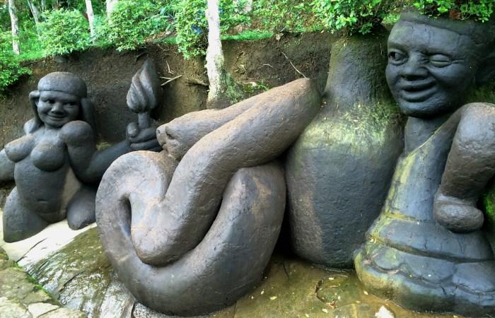 Adão e Eva - jardim do Nêgo - Nova Friburgo