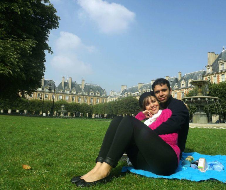 O que fazer em Paris de graça - Place des Vosgues