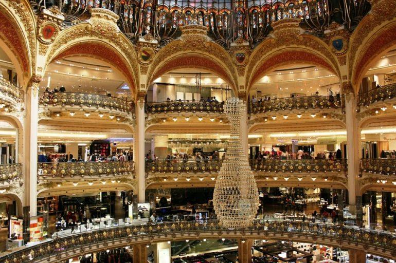 O que fazer em Paris de graça - Galeries Lafayette