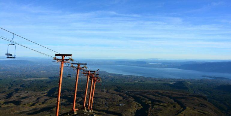 Teleférico - Vulcão Villarica