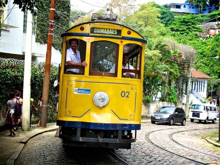 Rio 2016 - Bondinho de Santa Teresa