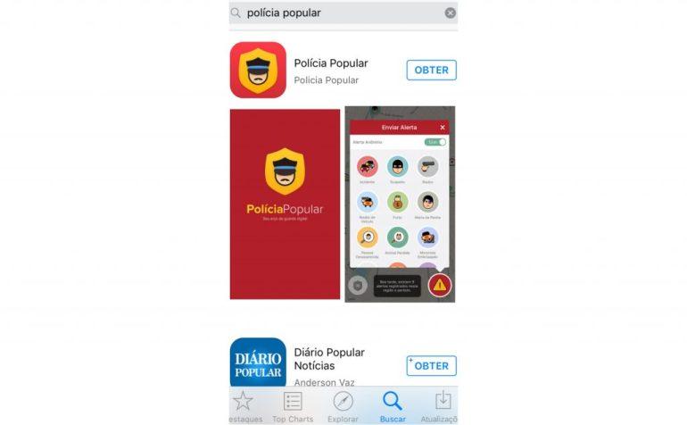 Aplicativo - Apple Store