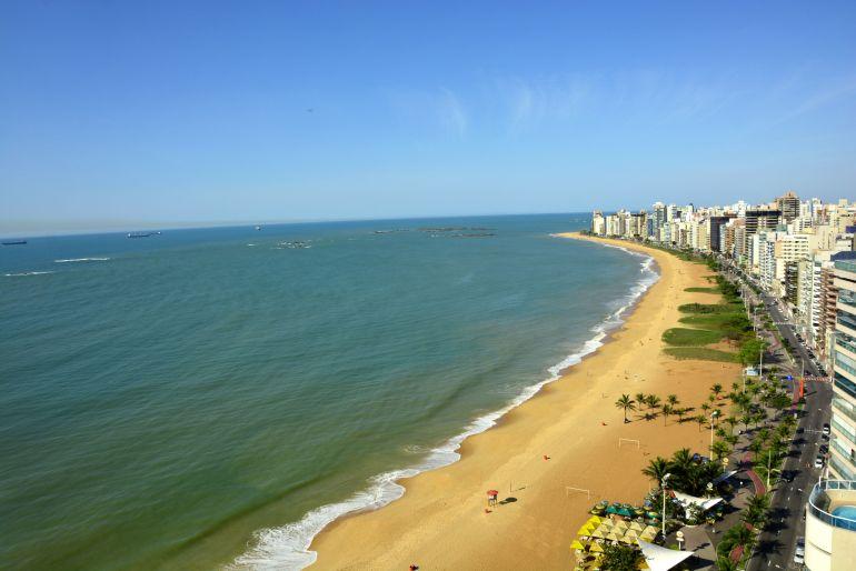 Hotel em Vila Velha - Vista da Praia da Costa