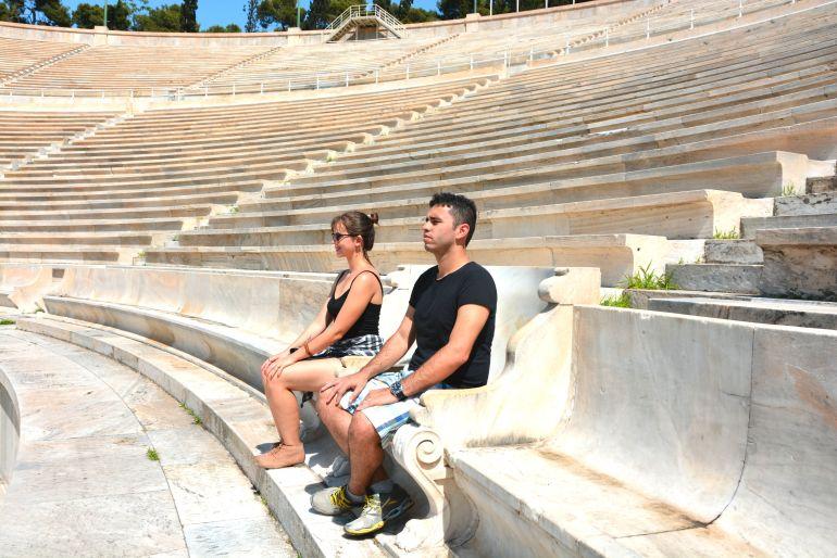 Grécia - Nos lugares do rei e da rainha