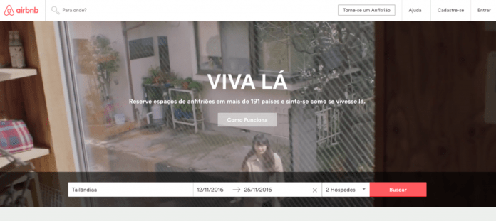 Alugar apartamento de temporada - Airbnb