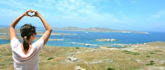 Guia para quem vai sem guia | Não se perca na Ilha de Delos