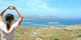 Ilha de Delos - Capa