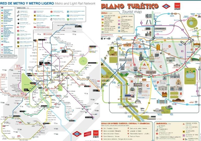 Metrô de Madri - Mapas no App