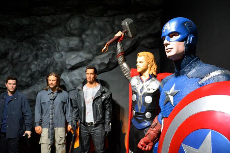 Museu de Cera Gramado - Heróis Marvel e cia