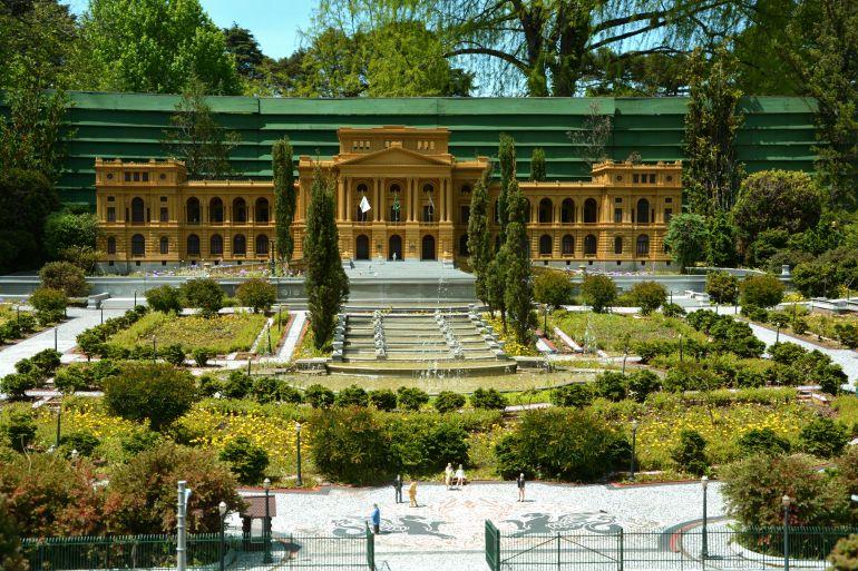 Mini Mundo - Palácio do Ipiranga
