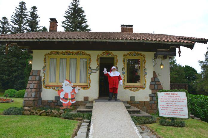 Aldeia do Papai Noel - Casa do Papai Noel