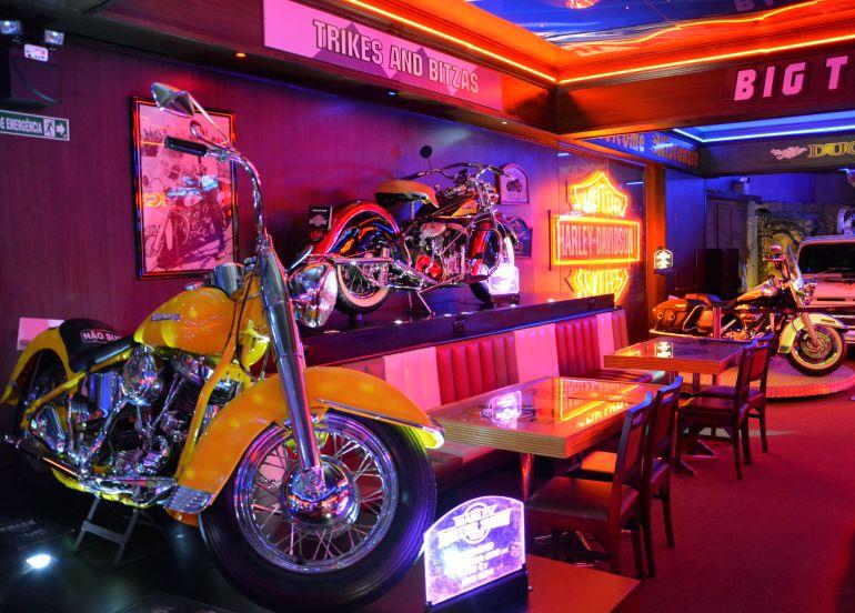 Harley Motor Show - Entre as motos