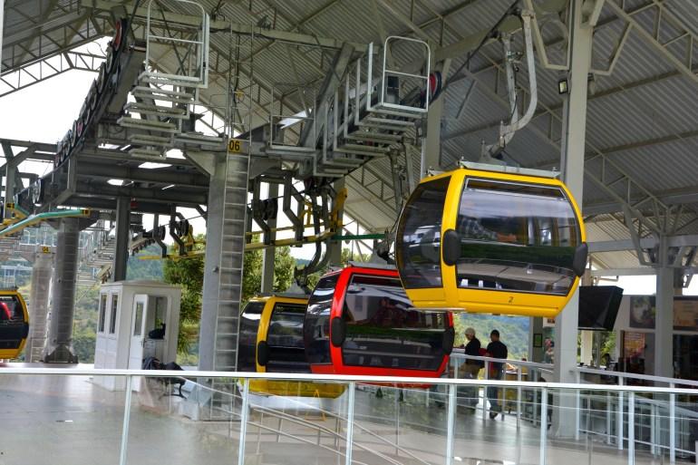 Bondinhos Aéreos Canela RS - Estação Central