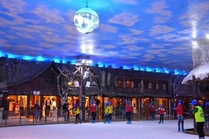 Snowland - Patinação
