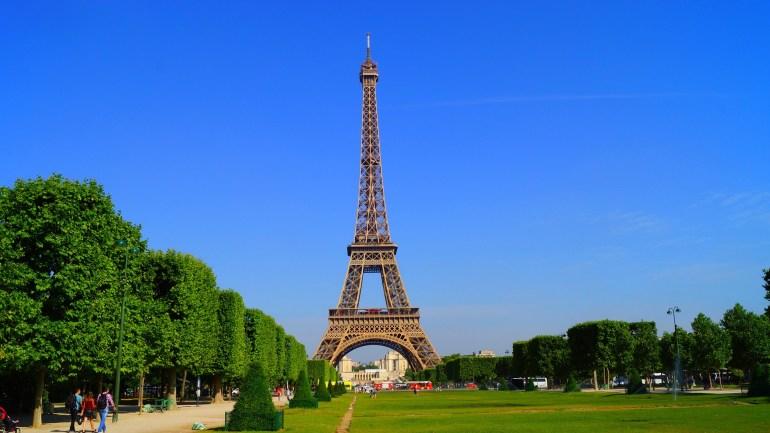 O que fazer em Paris de graça - Torre Eiffel