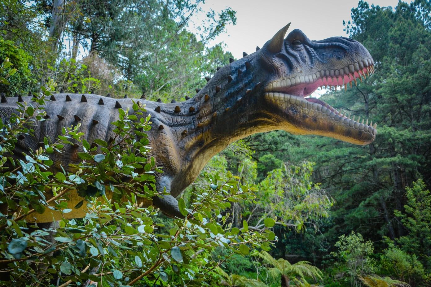 Parque dos Dinossauros em Canela