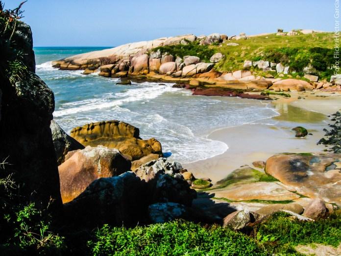 Leste de Florianópolis - Praia do Gravatá
