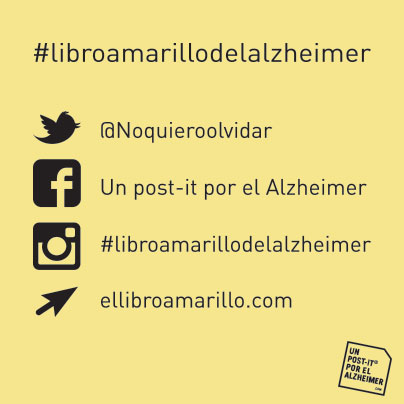 un post it por el alzheimer