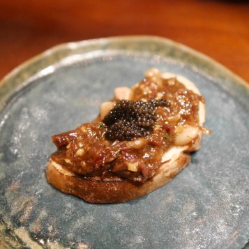 Wagyu short ribs with caviar