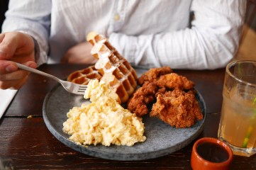 Staring at Jacobs - Rasco, Fried Chicken on waffle