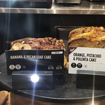 Banana Pecan Cake Costa London Calories