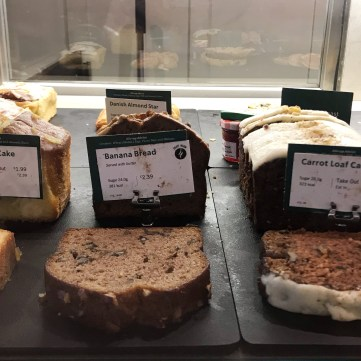 Cake Bread Selection at Starbucks London Calories
